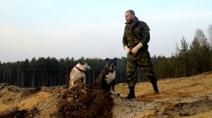 Szkolenia psów służbowych
